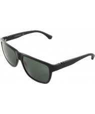 Emporio Armani Ea4035 58 nowoczesne czarne okulary 501771