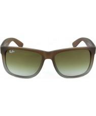 RayBan Rb4165 51 Justin gumy brązowy na szarym 854-7z okulary