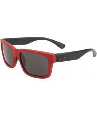 Bolle Daemon jr. czerwony czarny matowy TNS okulary