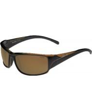 Bolle Keelback błyszczące brązowe spolaryzowane okulary AG-14