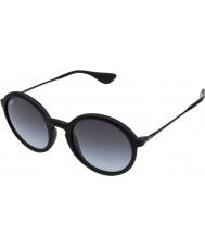 RayBan Rb4222 50 młodzik czarna guma 622-8g okulary
