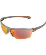 Cebe Cinetik duże metaliczne szare okulary