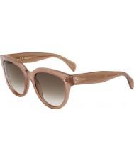 Celine Panie cl 41755 gky db opal brązowe okulary