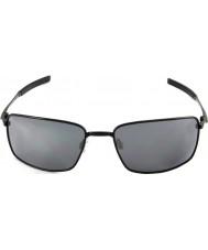Oakley Oo4075-01 drut kwadratowy polerowane black - black iridium okulary