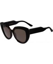 Marni Damskie me601s czarne okulary i Hawana