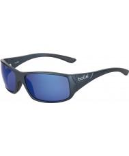 Bolle Kingsnake matowe niebieskie okulary polaryzacyjne morskie niebieskie