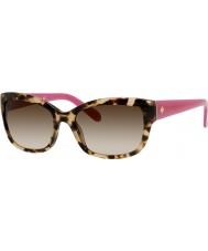 Kate Spade New York Panie Johanna-s RYP Y6 Havana różowe okulary