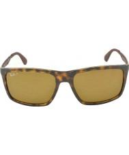 RayBan Rb4228 58 aktywnych lifestyle Hawana 710-83 spolaryzowane okulary