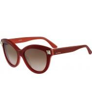 Valentino Women v695s angielski czerwone okulary