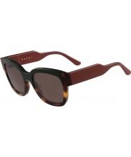 Marni Damskie me604s zielone okulary i Hawana