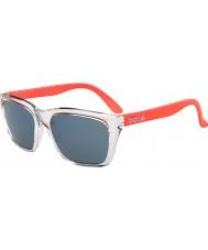 Bolle 527 kolekcja retro błyszczący kryształ pomarańczowy gb-10 okulary