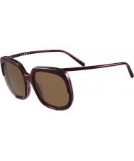 Marni Ladies me608s bordowy i Hawana okulary