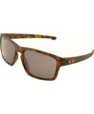 Oakley Oo9262-03 taśmy matowy brąz pokrzywnik - ciepłe szare okulary