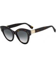 Fendi Panie ff0266 s 86 9o 52 okulary przeciwsłoneczne peekaboo