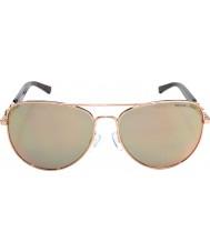 Michael Kors Mk1003 58 Fidżi różowe złoto 1003r5 okulary