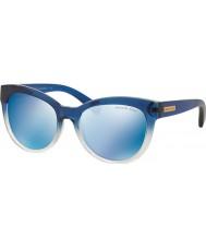 Michael Kors Mk6035 53 Mitzi I niebieski cieniowany 312255 niebieskie lustrzane okulary