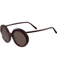 Marni Ladies me609s bordowy i Hawana okulary
