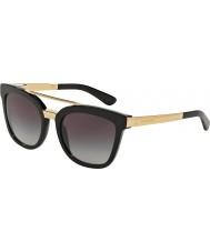 Dolce and Gabbana Dg4269 54 czarne okulary 501-8g