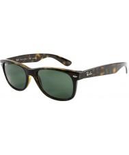RayBan Rb2132 55 new wayfarer szylkret 902-58 spolaryzowane okulary