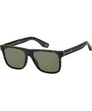 Marc Jacobs Męskie marc 275 s 086 qt 55 okularów przeciwsłonecznych