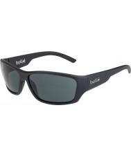 Bolle 12373 czarne czarne okulary przeciwsłoneczne