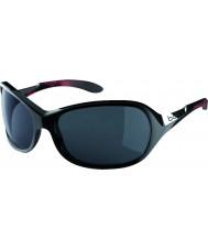 Bolle Grace błyszczące czarne koralowe spolaryzowane okulary TNS