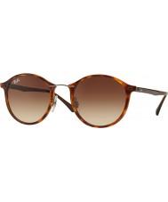 RayBan Rb4242 49 tech promień światła Jasna Havana 620113 okulary