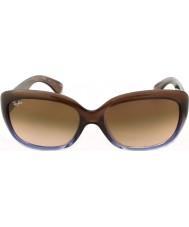 RayBan Rb4101 58 Jackie Ohh brązowy gradientu bzu 860-51 okulary