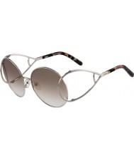 Chloe Damskie ce124s srebrne i brązowe okulary