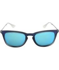 RayBan Rb4221 50 młodzik strzał z niebieskiej gumy 617055 okulary