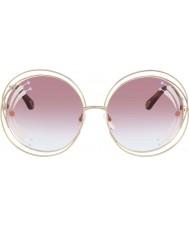 Chloe Damskie okulary przeciwsłoneczne ce114sri 835 62 carlina