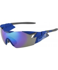 Bolle 6th Sense s matowy granatowy niebiesko-fioletowe okulary