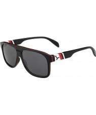 Cebe Chicago 1500 szary czarny czerwony Flash lustrzane okulary