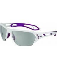 Cebe Cbstl14 s-track l białe okulary przeciwsłoneczne