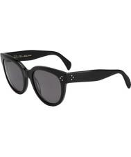 Celine Panie cl 41755 807 3h czarne okulary