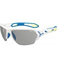 Cebe Cbstl8 s-track l białe okulary przeciwsłoneczne
