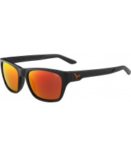Cebe Hacker matowy szary 1500 szara Flash lusterko pomarańczowe okulary
