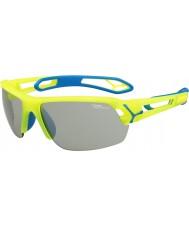 Cebe Cbstmpro s-track m żółte okulary przeciwsłoneczne