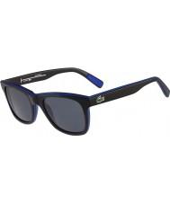 Lacoste L781sp czarne niebieskie okulary polaryzacyjne