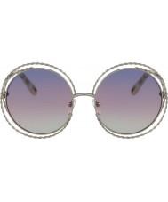 Chloe Damskie ce114st 779 58 carlina sunglasses