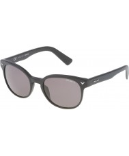 Police Mężczyźni mistrz 4 spl143-703p matowe czarne okulary polaryzacyjne