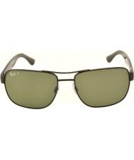 RayBan Rb3530 58 Highstreet gunmetal 002-9a spolaryzowane okulary