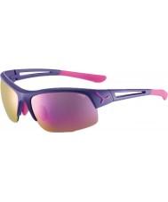 Cebe Cbstride4 krokowe fioletowe okulary przeciwsłoneczne
