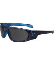 Cebe S-cape duża antracyt niebieskie okulary polaryzacyjne