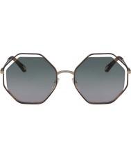 Chloe Damskie ce132s 240 58 makowych okularów przeciwsłonecznych