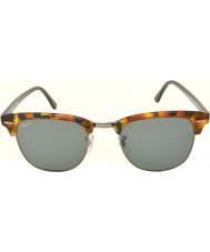 RayBan Rb3016 51 Clubmaster zauważony niebieskie okulary Havana 1158r5