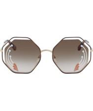 Chloe Damskie okulary przeciwsłoneczne ce132sri 258 58