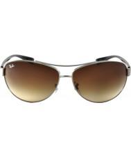 RayBan Rb3386 67 aktywny tryb życia gunmetal 004-13 okulary