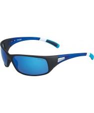 Bolle 12436 Odrzuć czarne okulary przeciwsłoneczne