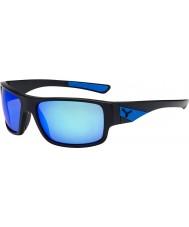 Cebe Whisper matowe czarne niebieskie okulary